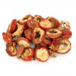 Dried chinese hawthorn fruits, traditional chinese herbal medicine — Stock Photo #8367337