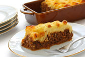 Cottage pie, shepherd's pie, english cuisine — Stock Photo