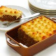 Cottage pie, shepherd's pie, english cuisine — Stock Photo #8781062