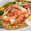 Stock Photo: Prawn mee, prawn noodles