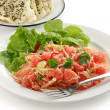 Vietnamese pomelo salad, goi buoi — Stock Photo