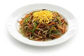 Japchae, korean cuisine — Stock Photo