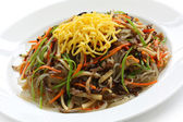 Japchae, korean cuisine — Stock Photo