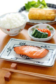 Typical japanese breakfast image — Stock Photo