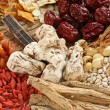 Traditional chinese herbal medicine — ストック写真