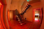 发光楼梯 — 图库照片