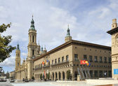 City centre of Zaragoza, Spain — Stock Photo
