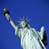 Estatua de la libertad en nueva york — Foto de Stock