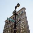 Flat Iron Building — Stockfoto