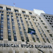 American Stock Exchange building - Stock Photo