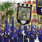 Procession during the Semana Santa — Stock Photo