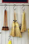 Brooms — Stock Photo