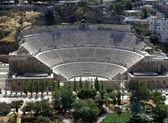 Roman amphitheatre in Amman — Stock Photo