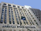 American Stock Exchange building — Stock Photo