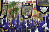 Procession during the Semana Santa — Stock Photo