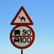 Traffic sign - Stock Photo