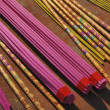 Buddhism incense sticks — Stock Photo