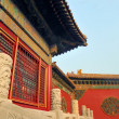 Forbidden City at sunset — Foto de Stock