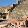 Stock Photo: Albarrcin in Teruel, Spain.