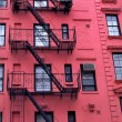 Stock Photo: New York City Apartment Buildings