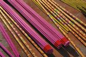 Buddhism incense sticks — Stock Photo