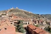 Panoramic view of the village of Albarrcin in Teruel, Spain. — Stock Photo