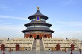 Imperialistiska valv av himmel i templet i himlen i peking, — Stockfoto
