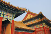 Roofs at the Forbidden City, Beijing, China — Stock Photo