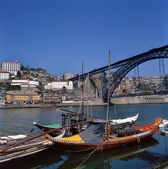 Dom Luis 1 Bridge in Porto, Portugal — Stock Photo