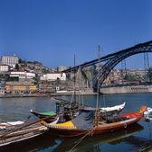 Dom luis 1 brug in porto, portugal — Foto de Stock