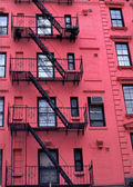 New York City Apartment Buildings — Stock Photo