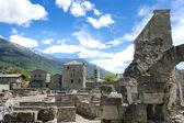 Romeins theater, aosta — Stockfoto