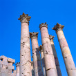 Corinthian columns in Jerash — Stock Photo