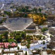 Roman amphitheatre in Amman — Stock Photo