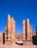 The Temenos Gate at Petra — Stock Photo