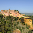 Provencal village of Roussillon — Stock Photo