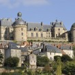 Hautefort castle — Stock Photo