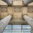 Detail of the Reichstag in Berlin — Stock Photo