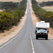 Eyre Highway South Australia — Stock Photo