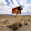Postbox in the desert — Stock Photo #8439833