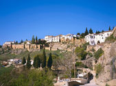 The town of Ronda in Spain — Stock Photo