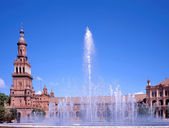 Plaza de Espana,Sevilla — Stock Photo