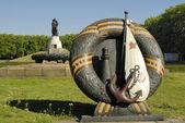 Soviet War Memorial in Treptower Park, Berlin, Germany — Stock Photo