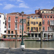 Great water street - Grand Canal in Venice, Italy — Stockfoto