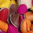 Handmade Moroccan shoes — Foto de Stock