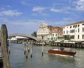 Great water street - Grand Canal in Venice, Italy — Stock Photo