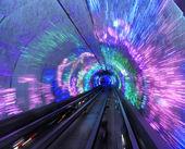 Túnel turístico bund de shanghai, china — Foto de Stock