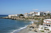 Mediterranean Sea at Nerja, Spain — Stock Photo