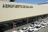 Airport of Malaga in Spain — Stock Photo