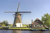 Windmill, the Netherlands — Stock Photo